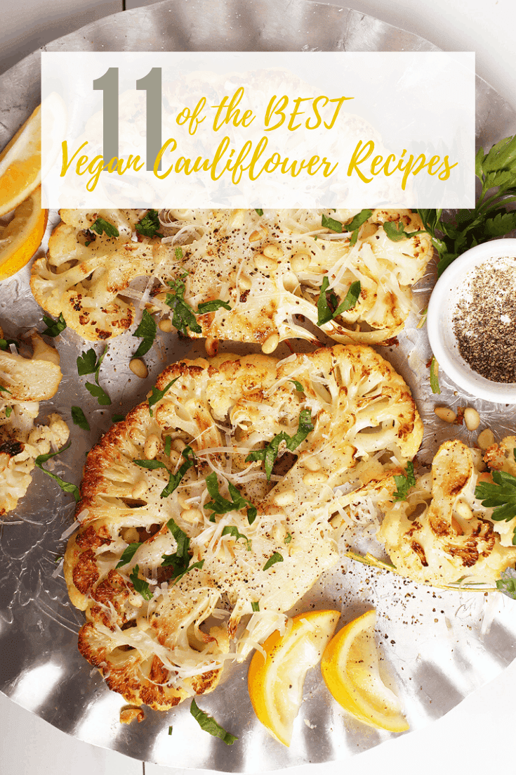 Do you know all the AMAZING things you can do with cauliflower? From rice to wings and everything in between, you're going to love these vegan cauliflower recipes. 100% Vegan.