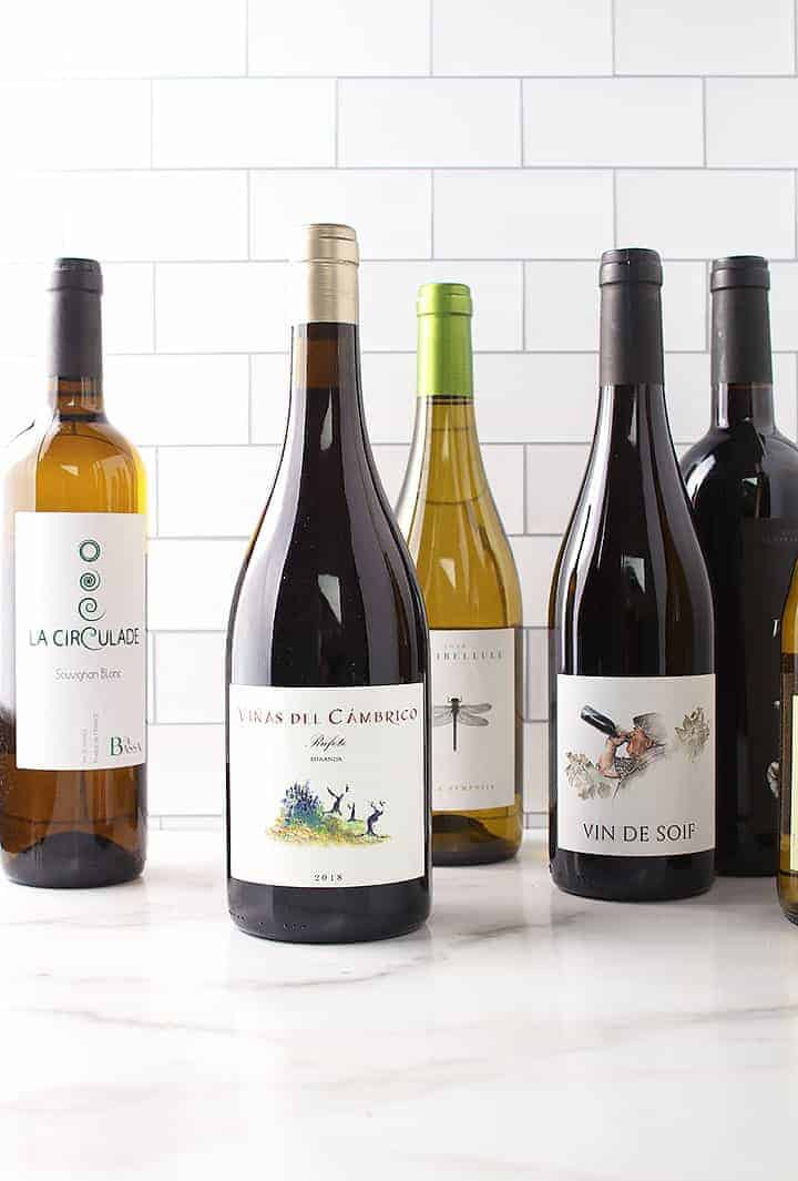 6 bottles of Dry Farm Wine