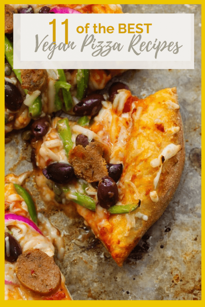 Just because you're vegan, doesn't mean you have to miss out on a good pizza! Here are some of my favorite vegan pizza recipes. From classics like Margarita Pizza to new favorites like Chicken Alfredo pizza, there is something for everyone.