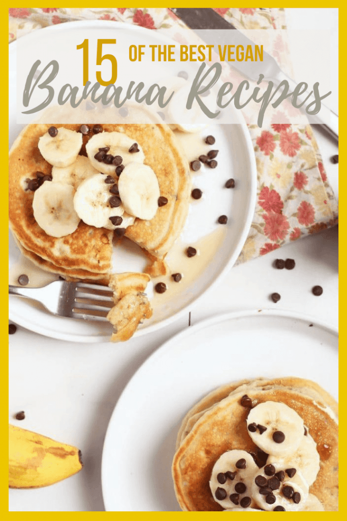 The BEST vegan banana recipes for your ripe bananas! Don't let your bananas go to waste with these delicious recipes. From bread to ice cream to cookies, there is a banana recipe for everyone.