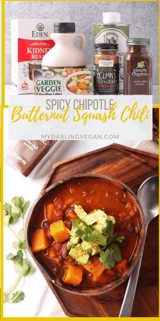 It's the ultimate vegan chili! You're going to love this soup. It's smoky, sweet, spicy, and filled with seasonal vegetables for the perfect autumnal vegan and gluten-free family meal. Made in 30 minutes!