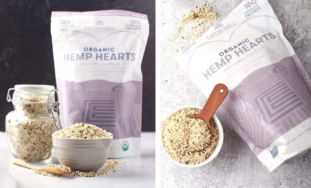 Eaton Hemp Hemp hearts in package