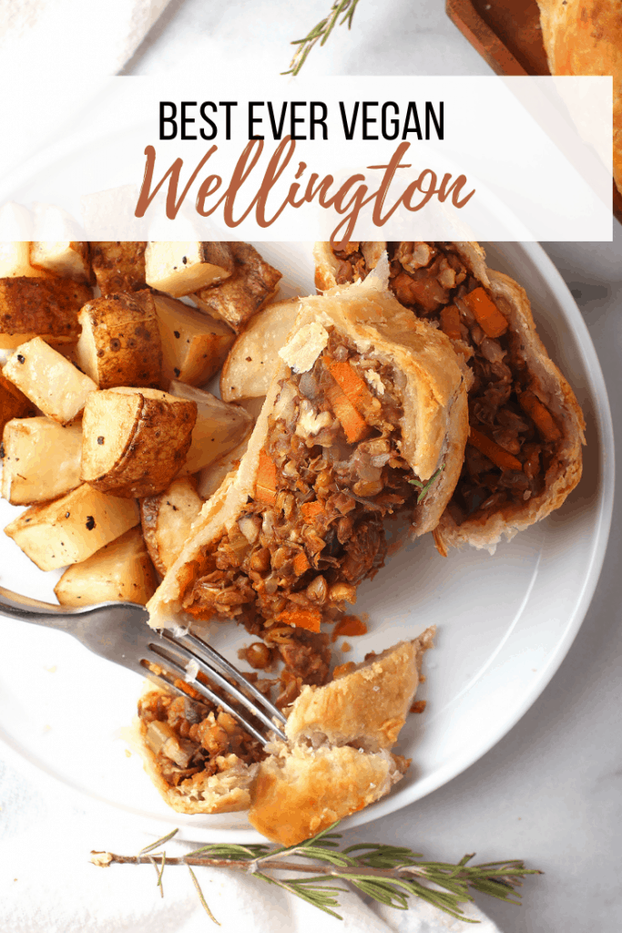 Vegan wellington is the plant-based version of traditional beef wellington. It is surprisingly easy to veganize and adds panache to any gathering. The perfect main course for any holiday meal, this vegan loaf will satisfy everyone at your table!