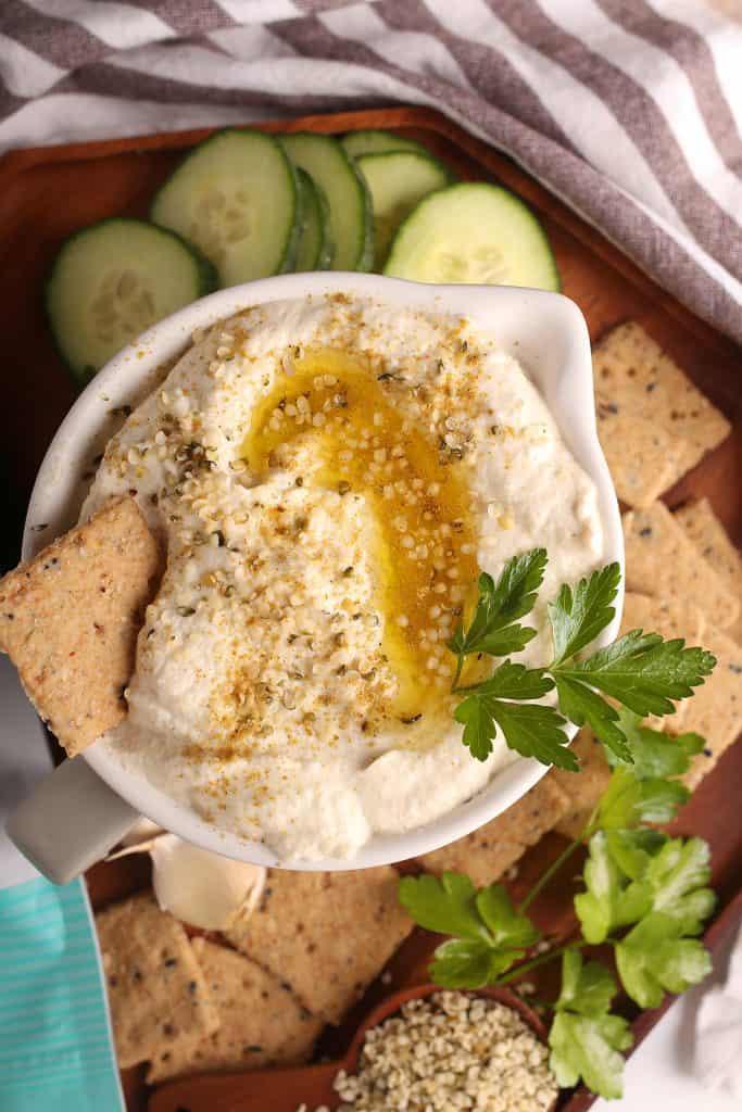 Hemp Cauliflower Hummus