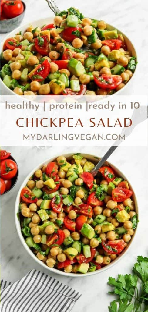 Photos for Greek chickpea salad