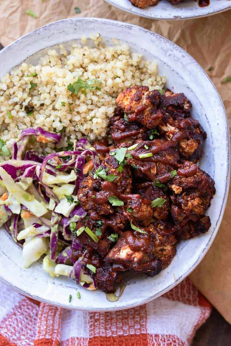 BBQ Cauliflower Buddha Bowl