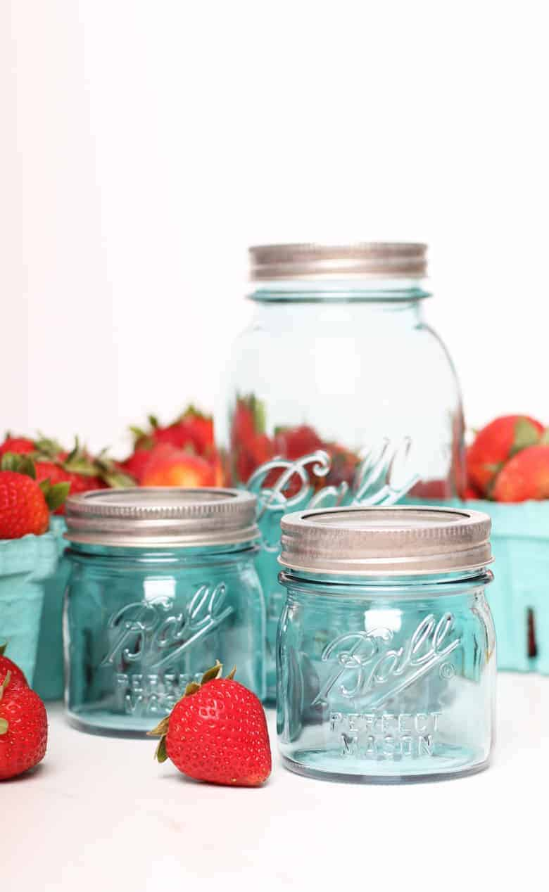 Ball vintage canning jars