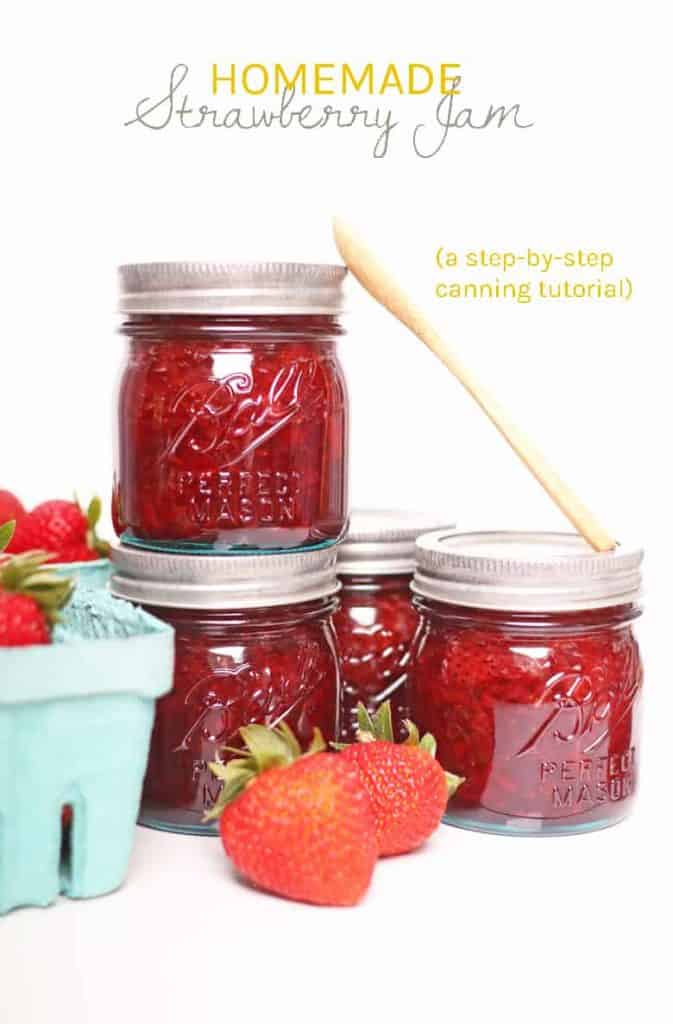 It's strawberry season! Time to pick all those berries and make some jam. Homemade jam is easier than you think. With the right equipment, you can make fresh, delicious jam in under an hour. Makes the perfect spread, filling, or homemade gift.