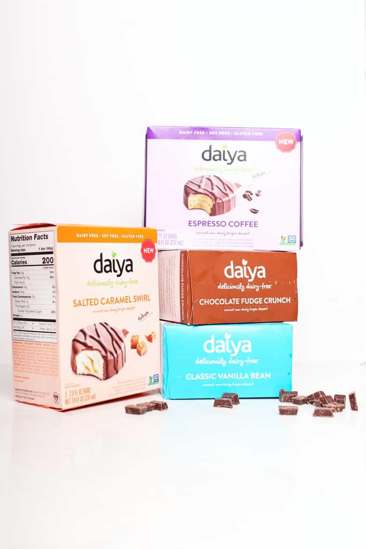 Daiya Frozen Dessert Bars