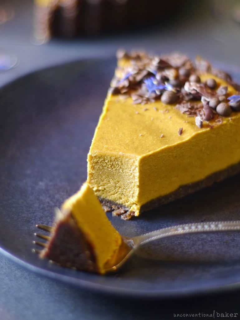 No bake Peanut Butter Pumpkin Pie
