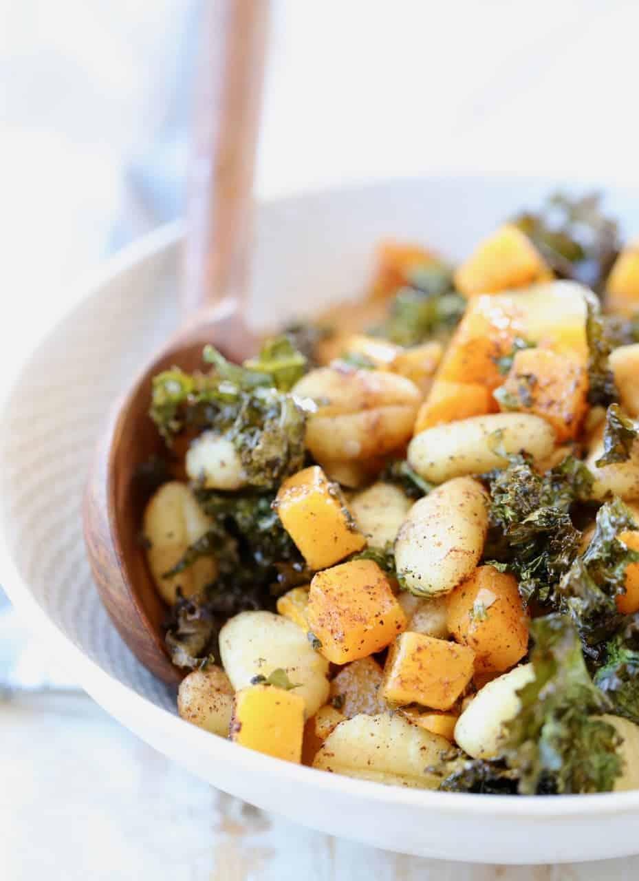 Baked Kale Gnocchi