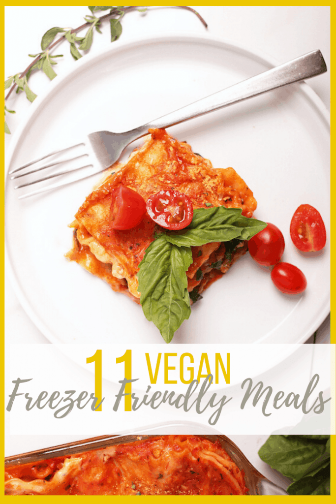 Stock your freezer full of these 11 Vegan Freezer Meals. For all of life's unexpected moments, it's always good to have wholesome and convenient meals on hand. Hearty dinner meals the whole family will love.