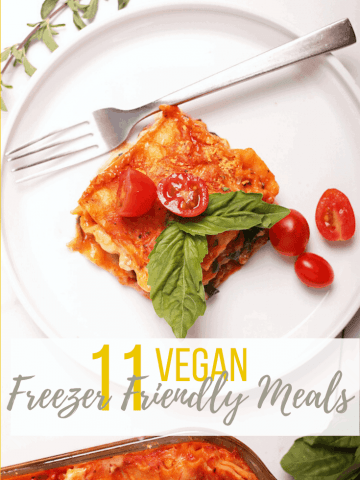Stock your freezer full of these 11 Freezer-Friendly Vegan Meals. For all of life's unexpected moments, it's always good to have wholesome and convenient meals on hand. Hearty dinner meals the whole family will love.