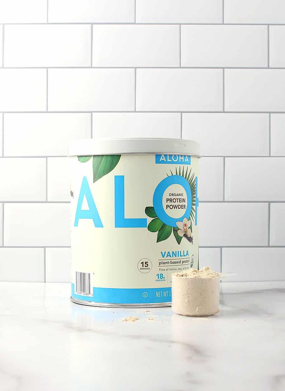 ALOHA Vanilla protein
