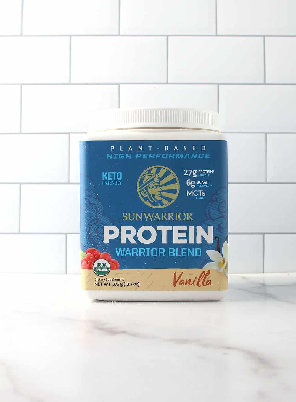 Sunwarrior Vanilla Protein Powder