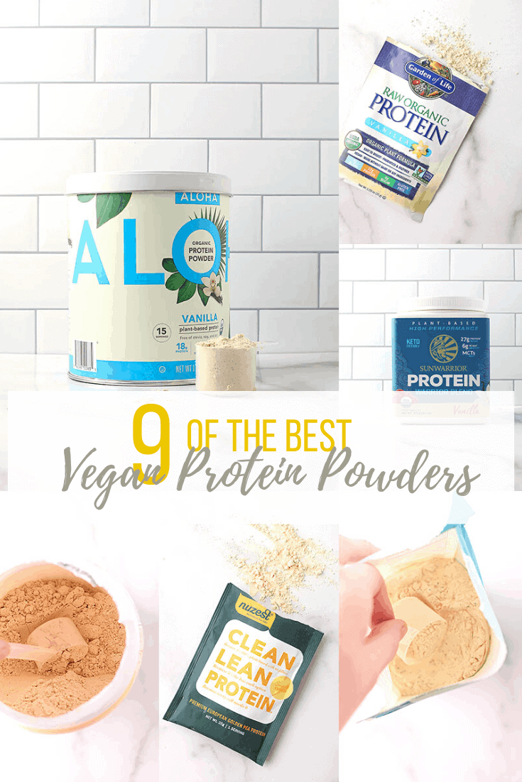 It's the ultimate protein powder review. 9 of the Best Vegan Protein Powders compared side-by-side. Get protein to calorie ratio, cost analysis, breakdown of ingredients, nutritional information, and more.
