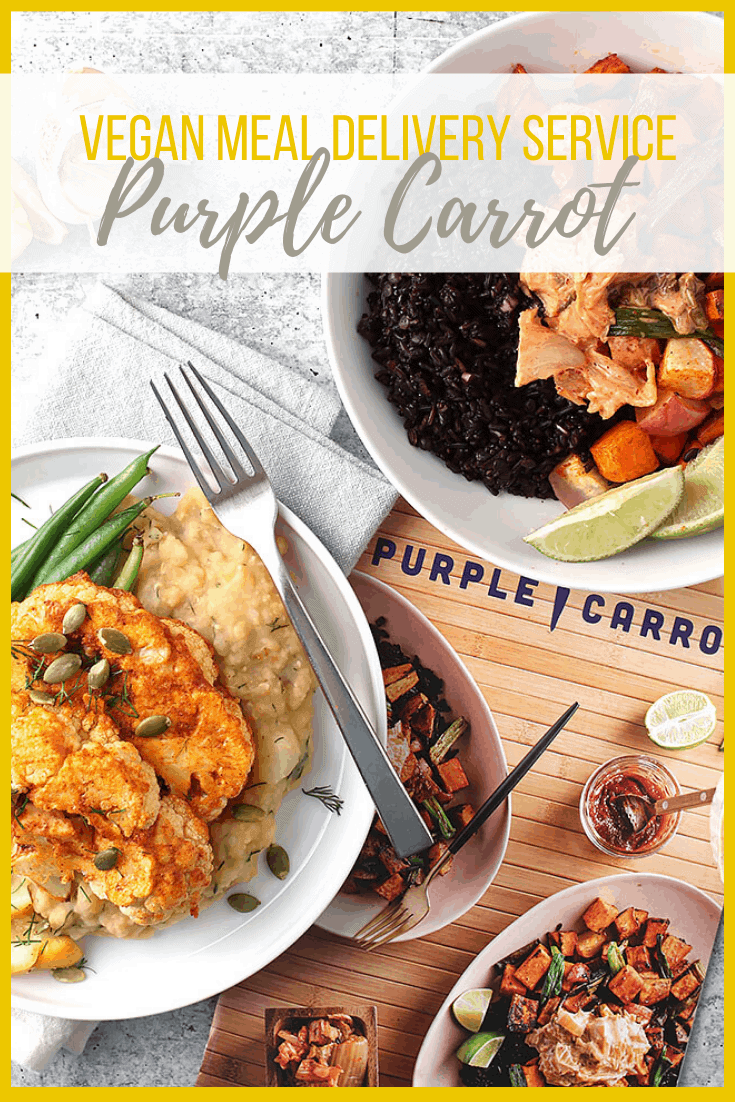 Purple Carrot Review! When you're short on time, don't compromise on wholesome plant-based meals. Give Purple Carrot a try. Purple Carrot is an entirely plant-based meal service dedicated to providing families with delicious, flavorful, vegan food.