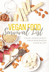 Need help preparing for an emergency? Let me help with My Darling Vegan's official Survival Food List. Find out the essential vegan staples, pantry items, and non-food items everyone should have during a crisis.