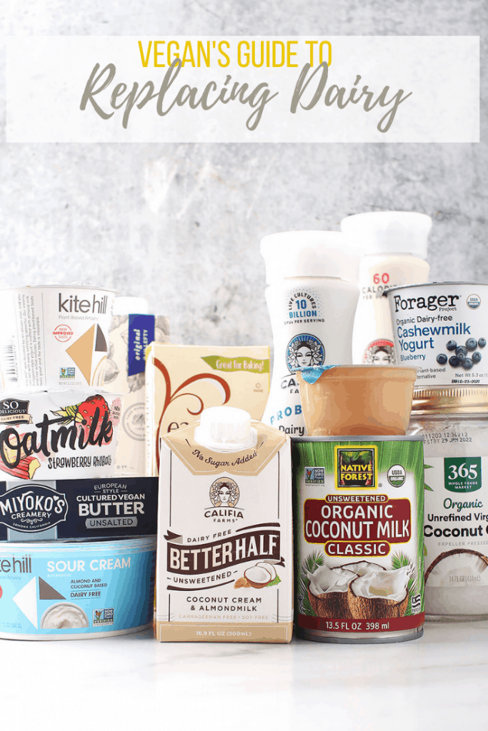Store bought vegan dairy alternatives